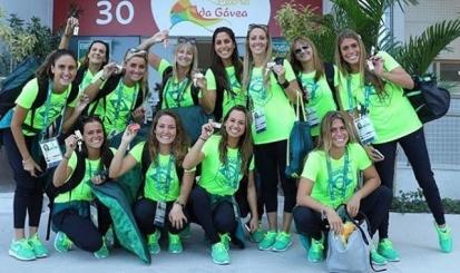 A dois dias do Rio-2016, Maria Clara Lobo e Lorena Molinos treinam no Maria Lenk