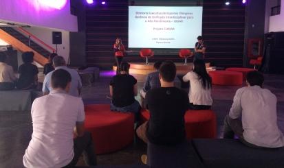 Casa Flamengo recebe palestra sobre o CUIDAR