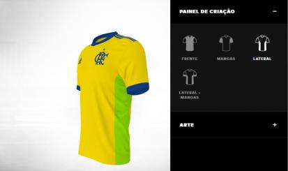 Torcedor do Flamengo pode criar novo Manto no adidas Creator Studio
