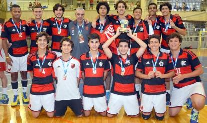 Flamengo conquista Copa Minas de Vôlei Sub-17
