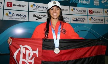 Nathalia Almeida conquista mais uma prata no Troféu José Finkel