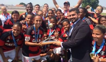 Flamengo conquista o bicampeonato carioca de futebol feminino