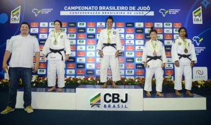 Dani Karla e Gabriel Rocha são prata e bronze no Brasileiro Sênior
