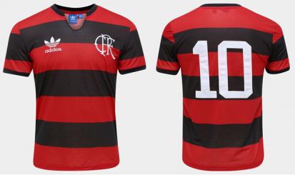 Flamengo e adidas lançam nova camisa da linha Originals