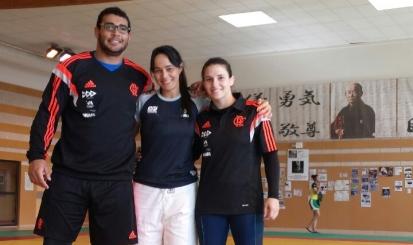 Flamengo tem quatro judocas convocados para a Seletiva Tóquio 2020
