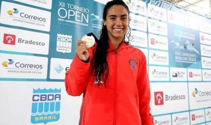 Flamengo encerra participação no Open de Natação com três ouros