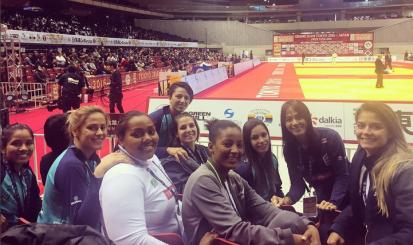 Atleta de Rosicleia Campos na Seleção chega em quinto lugar no Grand Slam de Tóquio