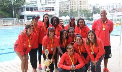 Flamengo é campeão brasileiro feminino de Polo Aquático