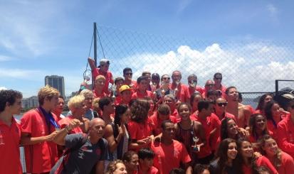 Flamengo conquista todas as categogrias do Estadual de Natação