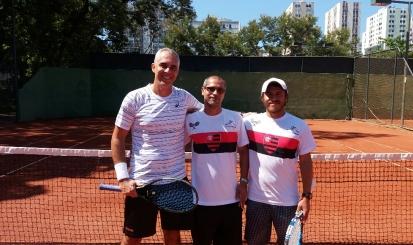Torneio de Tênis na Gávea recebe cerca de 100 participantes