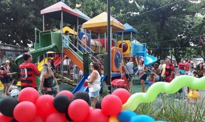 Bailinho de carnaval agita a sede da Gávea