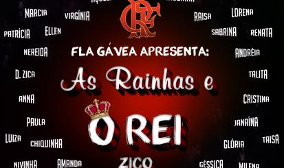 Zico promove jogo em homenagem às mulheres na Gávea
