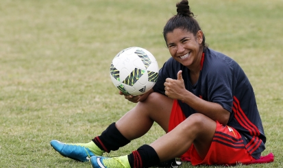 """Raquel fala sobre adaptação, importância da Nação e Flamengo/Marinha: """"Estou muito feliz"""""""