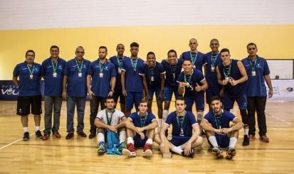 Com seis rubro-negros, seleção carioca de vôlei sub-20 é vice-campeã brasileira