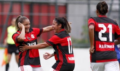 Larissa marca no fim e Flamengo/Marinha vence São José na Gávea