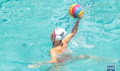 Sub-15 fica em oitavo da Copa PAB de polo aquático