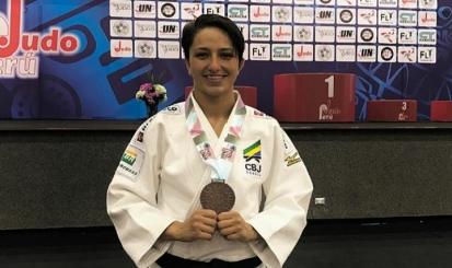 Dani Karla conquista bronze no Aberto Pan-Americano