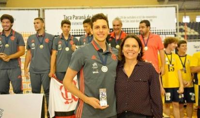 Central Guilherme Voss fala de suas ambições pelo Flamengo e Seleção Brasileira