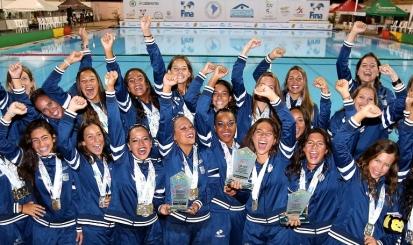 Com seis atletas rubro-negras, Brasil é campeão Sul-Americano de Nado Sincronizado