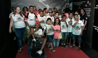 Fla Memória recebe visita do Projeto Videiras