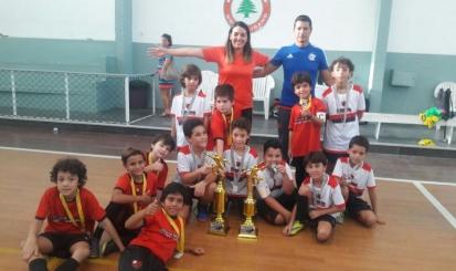 Em final rubro-negra, o Flamengo sagrou-se campeão do 1º Torneio da Amizade sub-9