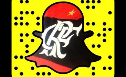 Flamengo oficializa parceria com Snap