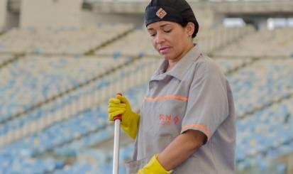 Sunplus, parceira do Fla no estádio da Ilha, disponibiliza equipe a custo zero no Maracanã