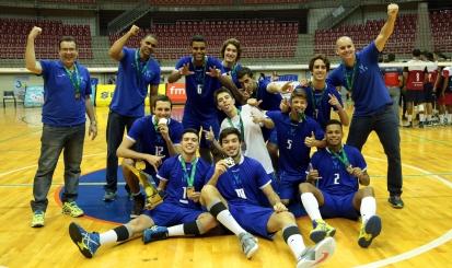 Rio de Janeiro é campeão do Campeonato Brasileiro de Seleções Sub18