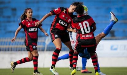 Flamengo/Marinha e São José empatam na penúltima rodada do Brasileirão Feminino