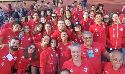 Flamengo estreia no Torneio Sudeste Juvenil, Júnior e Sênior de natação