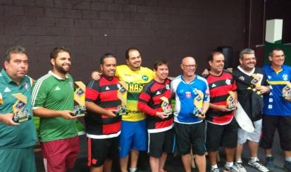 Atleta rubro-negro de futebol de mesa é campeão da Copa do Brasil na modalidade Dadinho
