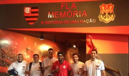 Camisa usada por Rodinei na conquista do Carioca está exposta no Fla Memória
