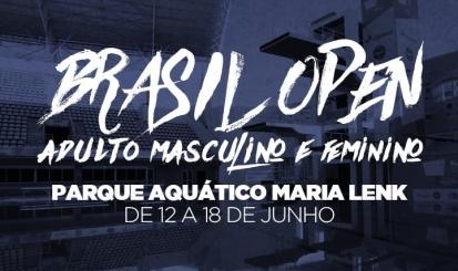 Polo aquático rubro-negro participa do Brasil Open