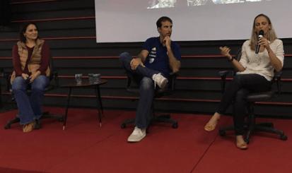 Painel do CUIDAR reúne Marcelinho, Luiza Parente e Fabi Alvim na Gávea