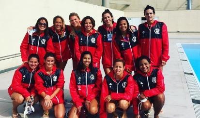 Flamengo estreia com goleada no Brasil Open de Polo Aquático