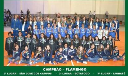 Flamengo é campeão da Copa Jambeiro de Vôleibol Mirim sub-14