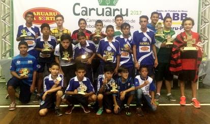 Rubro-negro é campeão brasileiro individual sub-18 de futebol de mesa