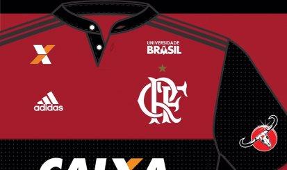 Universidade Brasil é a nova patrocinadora do futebol rubro-negro