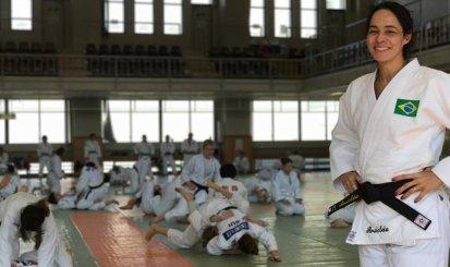 Rosicleia Campos vai ao Mundial com a Seleção de judô