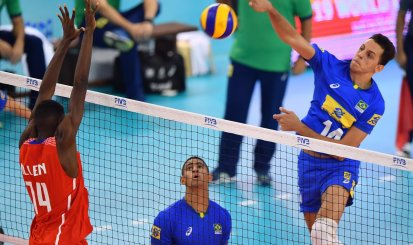 Guilherme Voss se destaca na Seleção Brasileira Sub-19