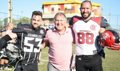 Sob olhares de Zico, Flamengo Imperadores vence Corinthians Steamrollers