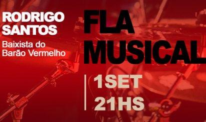 Barão Vermelho (e preto): baixista da banda há 35 anos, Rodrigo Santos se apresenta na Gávea