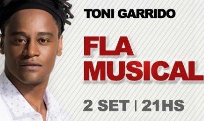 Reggae invade palco do Fla Musical na voz de Toni Garrido