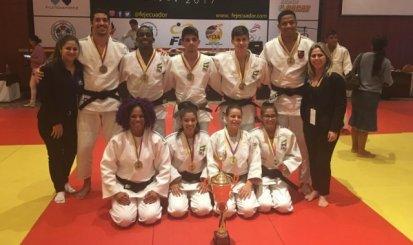 Luiz Filipi Santos conquista o ouro no Sul-Americano sub 21 de Judô