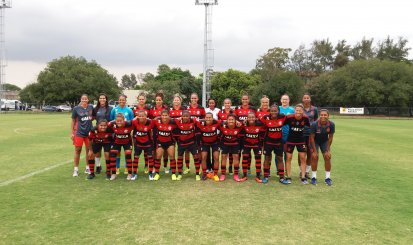 Flamengo/Marinha goleia Barcelona e segue no primeiro lugar do Carioca