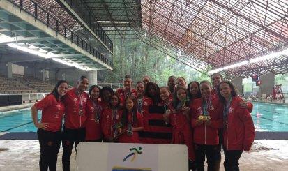 Flamengo conquista o segundo lugar geral no Campeonato Brasileiro Interclubes de Nado Sincronizado