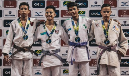 Flamengo conquista medalhas no Brasileiro Sub-15 de judô