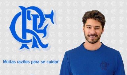 Em parceria com licenciados, Flamengo apoia Novembro Azul com camisa e copo especiais