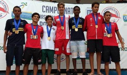 Flamengo fica na quinta posição no Brasileiro Sub-15 de polo aquático