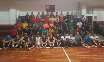 Flamengo promove primeiro curso de Futsal para profissionais do ramo